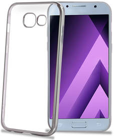 Celly Laser pro Samsung Galaxy A3 (2017) (LASER643SV) stříbrný
