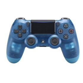 Sony Dual Shock 4 pro PS4 v2 - křišťálově modrá (PS719869269)