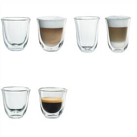 DeLonghi Set skleniček DeLonghi cappuccino + macchiato + espresso