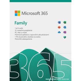 Microsoft Microsoft 365 pre rodiny SK (6GQ-01601)