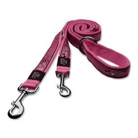 Rogz přepínací FANCY DRESS Pink Bones XL