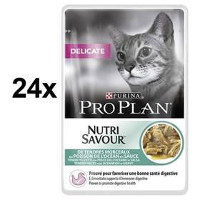 Purina Pro Plan CAT DELICATE Mořské ryby 24 x 85g