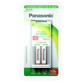 Panasonic BQ-CC50 Compact + AA, 1 000 mAh, 2 ks (K-KJ50LGA20E)
