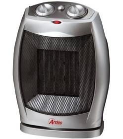 Teplovzdušný ventilátor Ardes 480 strieborný/sivý
