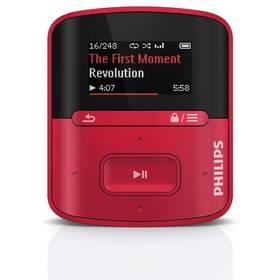 Philips Raga SA4RGA04RF červený