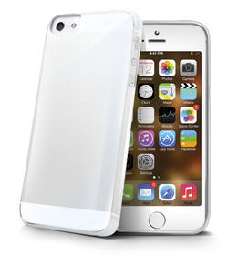Celly Gelskin pro Apple iPhone 5 (GELSKIN185) průhledný