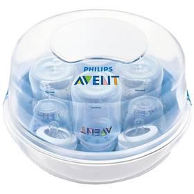 AVENT a sterilizátor do mikrovlnné trouby bílá/modrá