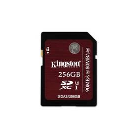 Kingston SDXC 256GB UHS-I U3 (90R/80W) (SDA3/256GB) + Doprava zdarma
