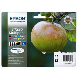 Epson T1295, 32,2ml - originální (C13T12954010) černá/červená/modrá/žlutá