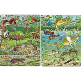 Larsen Život v rybníce, Zvířátka v lese 2