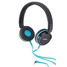 Sluchátka Sony MDR-ZX600 modrá