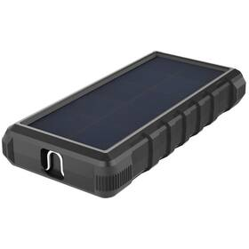 Viking W24, 24000mAh, solární, QC 3.0, USB-C (VSPW24) čierna
