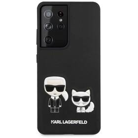 Karl Lagerfeld Karl &Choupette na Samsung Galaxy S21 Ultra 5G (KLHCS21LPCUSKCBK) čierny