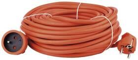 Kábel predlžovací EMOS 1x zásuvka, 30m (1901013000) oranžový