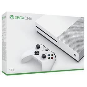 Microsoft Xbox One S 1 TB (234-00012) bílá Hra EA Xbox One FIFA 18 (zdarma) + Doprava zdarma