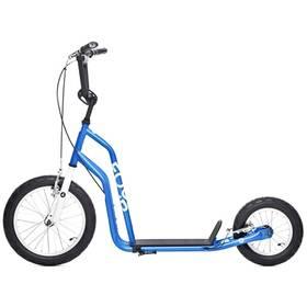 Yedoo Basic Four 04 modrá + Reflexní sada 2 SportTeam (pásek, přívěsek, samolepky) - zelené v hodnotě 58 Kč + Doprava zdarma