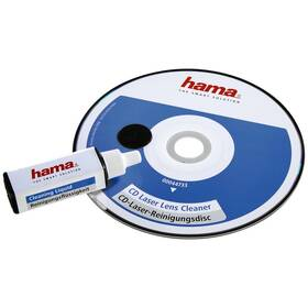 Čistící disk CD Hama s čisticí kapalinou, 1ks (vrácené zboží 8800948692)