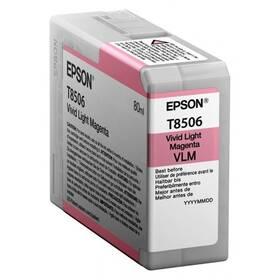 Epson T8506, 80 ml, světlá magenta (C13T850600)