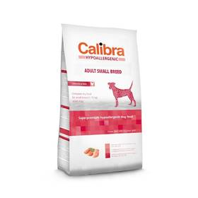 Calibra Dog Hypoallergenic Adult Small Breed Chicken 7kg