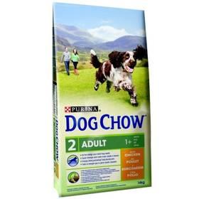 Purina Dog Chow Adult kuře 11 + 3 kg + Doprava zdarma