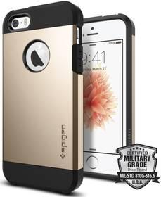 Spigen Tough Armor pro Apple iPhone 5/5s/SE - champagne gold (041CS20252) + Doprava zdarma