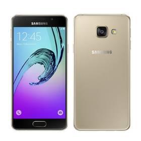 Samsung Galaxy A3 2016 (SM-A310F) (SM-A310FZDAETL) zlatý Voucher na skin Skinzone pro Mobil CZSoftware F-Secure SAFE 6 měsíců pro 3 zařízení (zdarma) + Doprava zdarma