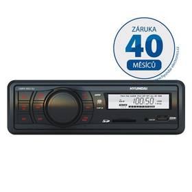 Autorádio s SD slotom Hyundai CMRX 4802 SU čierne