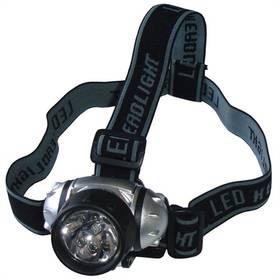 Brother 7 LED - upínací popruhy na hlavu - náplň na 3 tužkové baterie