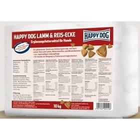 HAPPY DOG Lamm & Reis-Ecken 10 kg + Doprava zdarma