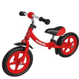 """LIFEFIT BAMBINO 12"""" červené + Reflexní sada 2 SportTeam (pásek, přívěsek, samolepky) - zelené v hodnotě 58 Kč + Doprava zdarma"""