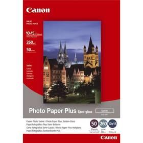 Fotopapier Canon SG-201 10x15, 260g, 50 listů (1686B015) biely