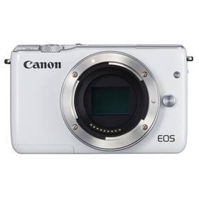 Canon EOS M10 tělo bílý + Doprava zdarma