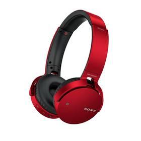 Sony MDR-XB650BT (MDRXB650BTR.CE7) červená