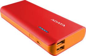 A-Data PT100 10000mAh (APT100-10000M-5V-CRDOR) červená/oranžová