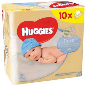Huggies Pure 10 x 56ks