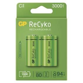 GP ReCyko, HR14, C, 3000mAh, NiMH, krabička 2ks (1032322300)