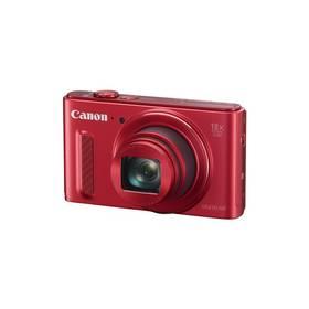Canon PowerShot SX610 HS (0113C002AA) červený + Doprava zdarma