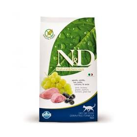 N&D Grain Free CAT Adult Lamb & Blueberry 5 kg + Doprava zdarma