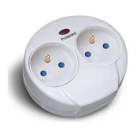 Solight PO25 2 zásuvky (PO25) bílá