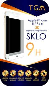 TGM 3D pro Apple iPhone 6/7/8 (TGM3DAPIP7/8WH) bílé