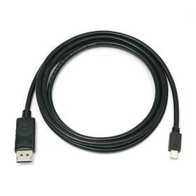 PremiumCord Mini DisplayPort / DisplayPort, M/M, 0,5m (kport2-005) černý