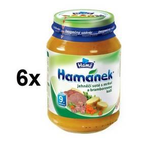 Hamánek jehnečí soté s mrkví a bramborem 6x190g