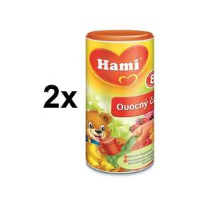 Instantní čaj Hami ovocný 200g x 2ks