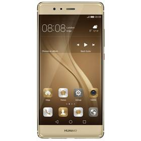 Huawei P9 32 GB Dual SIM - zlatý (SP-P9DSGOM) SIM s kreditem T-Mobile 200Kč Twist Online Internet (zdarma)Voucher na skin Skinzone pro Mobil CZPower Bank Huawei AP08Q 10000mAh - černá (zdarma)Paměťová karta Samsung Micro SDHC EVO 32GB class 10 + adapter (