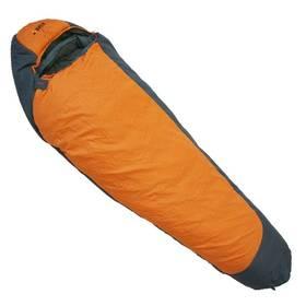 Spací vak Yate Nepál, levý zip 220x80 cm sivý/oranžový