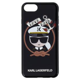 Karl Lagerfeld Karl Sailor Case pro iPhone 7/8 (KLHCI8KSB) čierny
