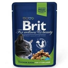 Brit Cat Chicken Slices for Steril 100 g