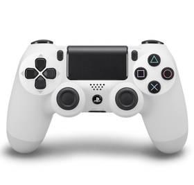 Sony Dual Shock 4 pro PS4 - ledově bílý (PS719453116)