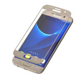 InvisibleSHIELD Glass Contour pro Samsung Galaxy S7 - zlatý rám (ZGGS7CGS-GD0)