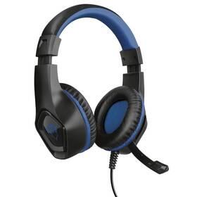 Trust GXT 404B Rana pro PS4 (23309) černý/modrý